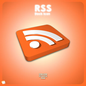 RSS Dock Icon